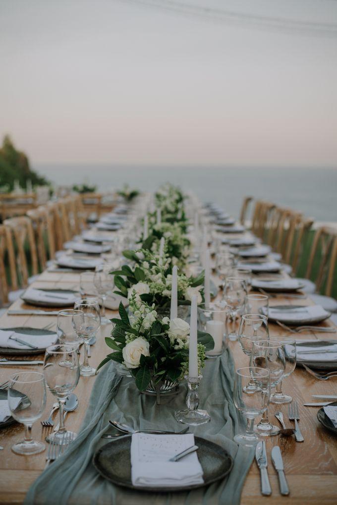 Lisa & Alessio Wedding by Bloomz Flower Bali - 013