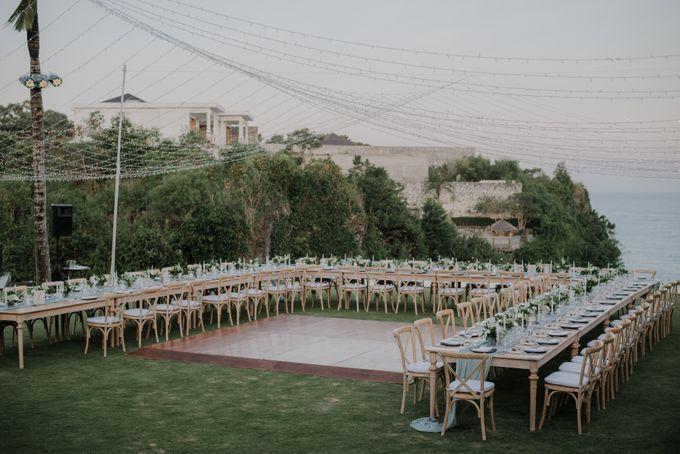 Lisa & Alessio Wedding by THE UNGASAN CLIFFTOP RESORT BALI - 016