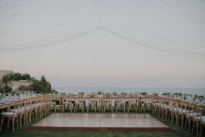 Lisa & Alessio Wedding by THE UNGASAN CLIFFTOP RESORT BALI - 017