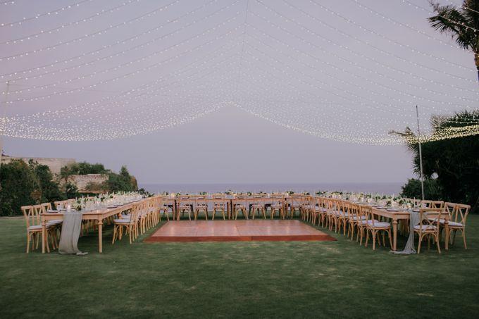 Lisa & Alessio Wedding by THE UNGASAN CLIFFTOP RESORT BALI - 018