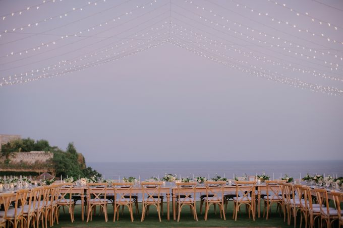 Lisa & Alessio Wedding by THE UNGASAN CLIFFTOP RESORT BALI - 020
