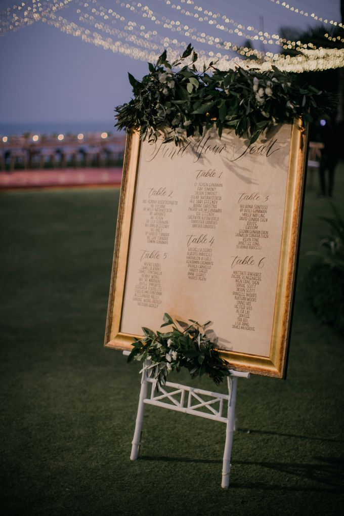 Lisa & Alessio Wedding by THE UNGASAN CLIFFTOP RESORT BALI - 021