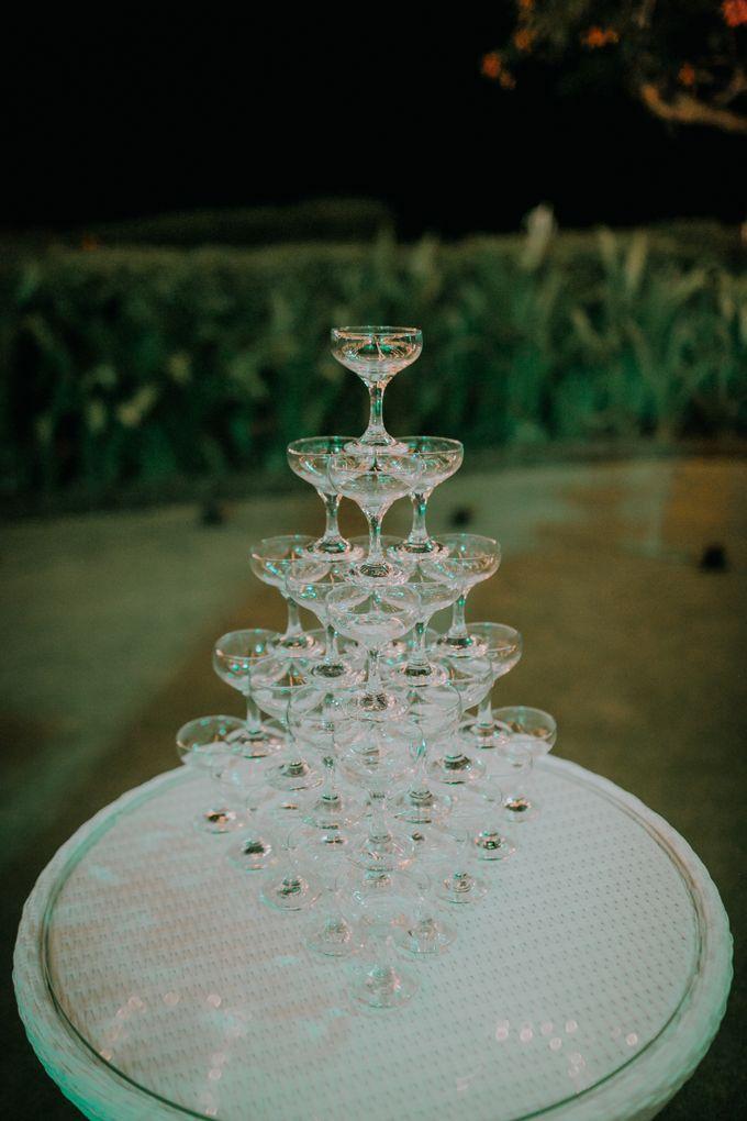 Lisa & Alessio Wedding by Bloomz Flower Bali - 022