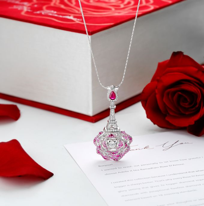 Rose D Amour Collection GIA and GemEx Certified by Adelle Jewellery - 003