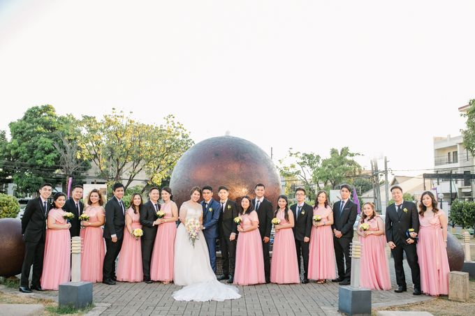 A Sunny Blush Wedding by Love And Other Theories - 037