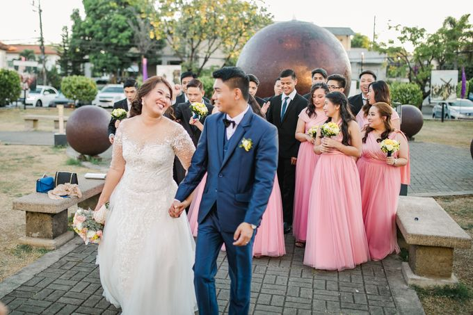 A Sunny Blush Wedding by Love And Other Theories - 039