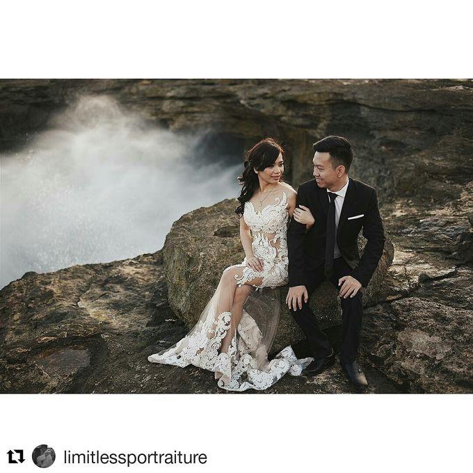 Prewedding Make Up by Julinar Tan Make Up Artist - 034