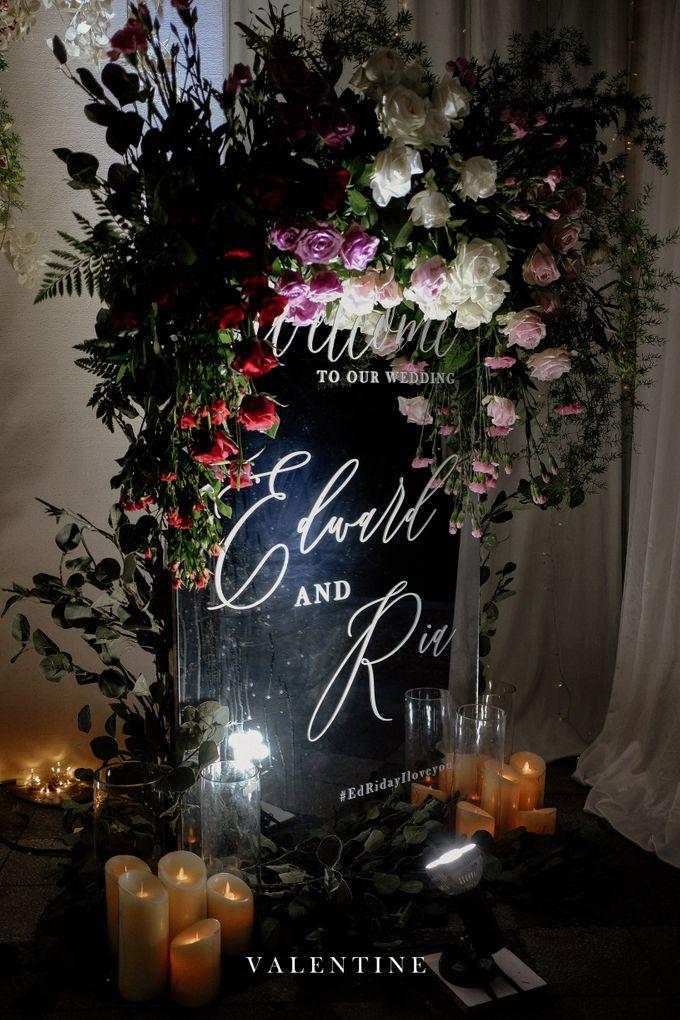 Edward & Ria Wedding Decoration by Valentine Wedding Decoration - 022