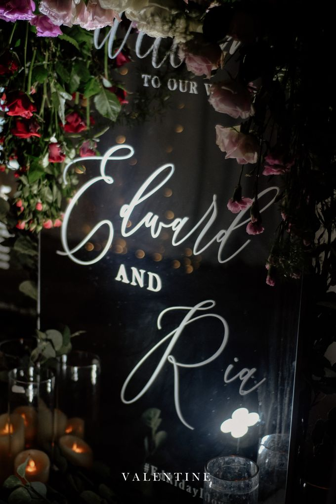 Edward & Ria Wedding Decoration by Valentine Wedding Decoration - 023