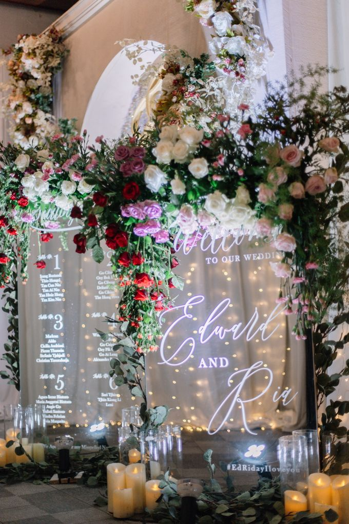Edward & Ria Wedding Decoration by Valentine Wedding Decoration - 020