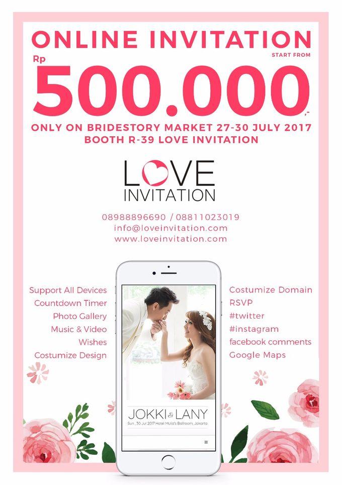 Bride Story Market 2017 Promo ! IDR 500.000,- by Love Invitation - 002