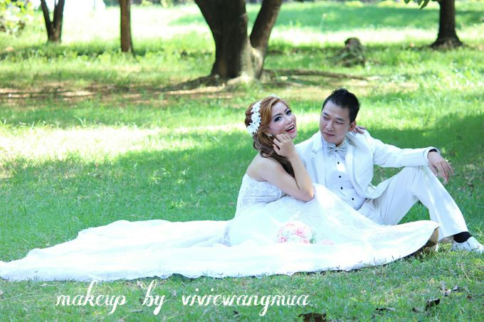 BEFORE AND AFTER by Vivie Wang Brides - 021