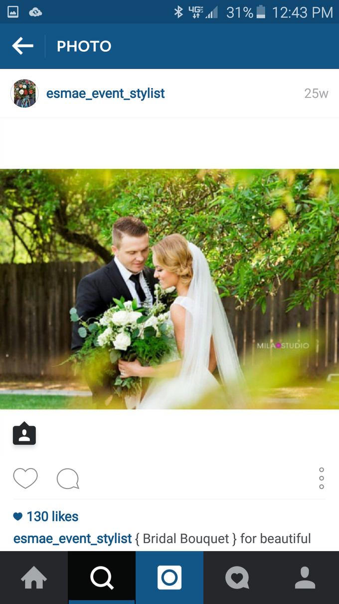 White Wedding by Esmae Event Floral Design - 001