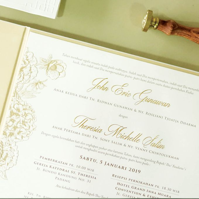 Eric & Michelle by Meltiq Invitation - 001