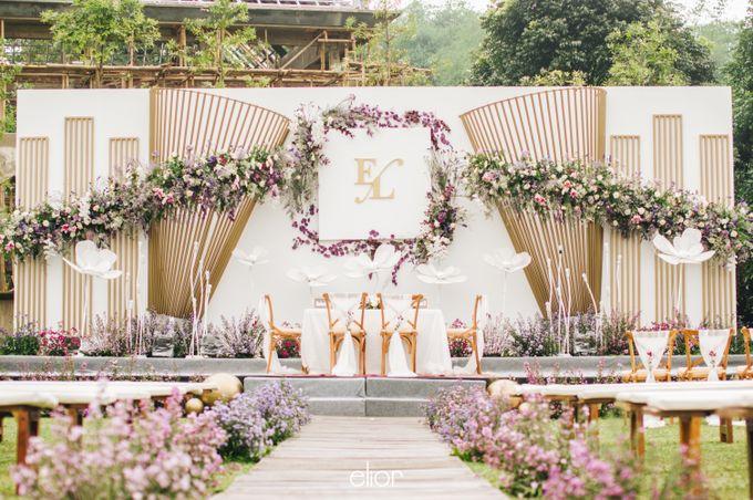 The Wedding of Eriely Lukman by Elior Design - 012