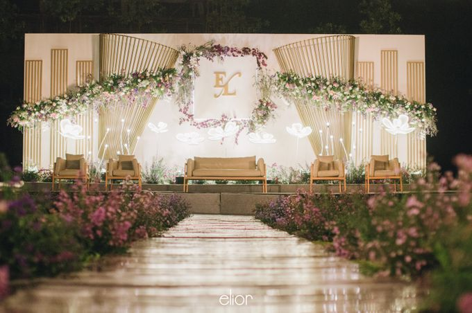 The Wedding of Eriely Lukman by Elior Design - 016