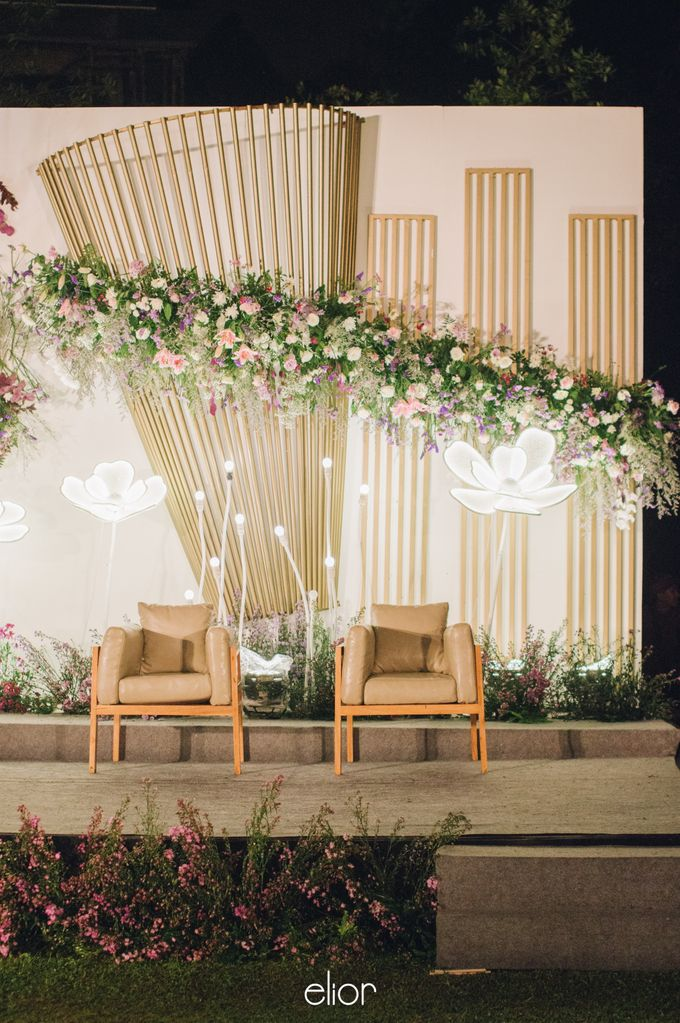 The Wedding of Eriely Lukman by Elior Design - 017