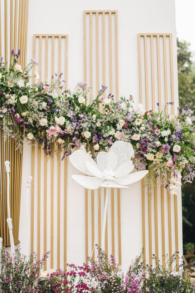 The Wedding of Eriely Lukman by Elior Design - 013