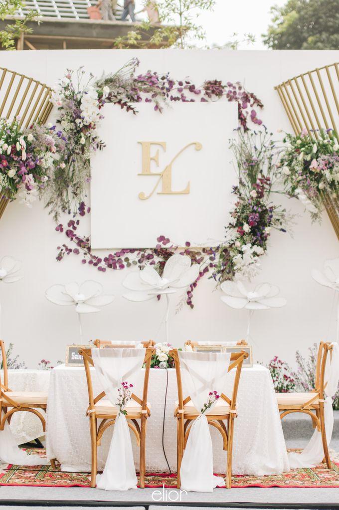 The Wedding of Eriely Lukman by Elior Design - 014