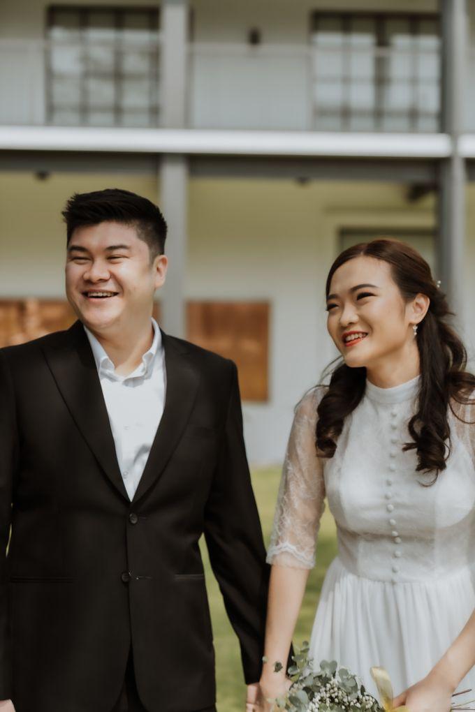 Erika & Steven Prewedding at Gedung Arsip Nasional by AKSA Creative - 010