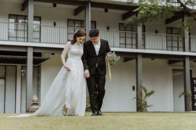Erika & Steven Prewedding at Gedung Arsip Nasional by AKSA Creative - 009