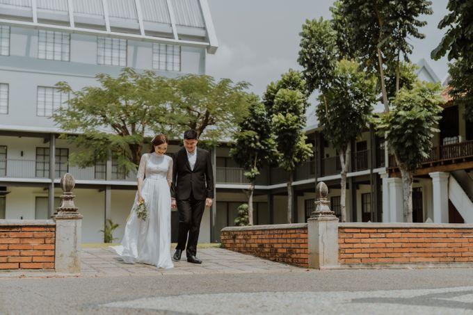 Erika & Steven Prewedding at Gedung Arsip Nasional by AKSA Creative - 011