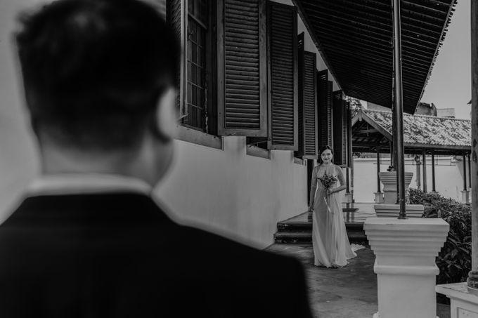 Erika & Steven Prewedding at Gedung Arsip Nasional by AKSA Creative - 015