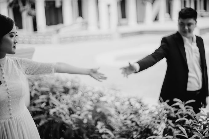 Erika & Steven Prewedding at Gedung Arsip Nasional by AKSA Creative - 014