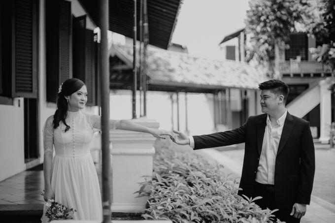 Erika & Steven Prewedding at Gedung Arsip Nasional by AKSA Creative - 016