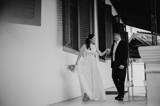Erika & Steven Prewedding at Gedung Arsip Nasional by AKSA Creative - 017