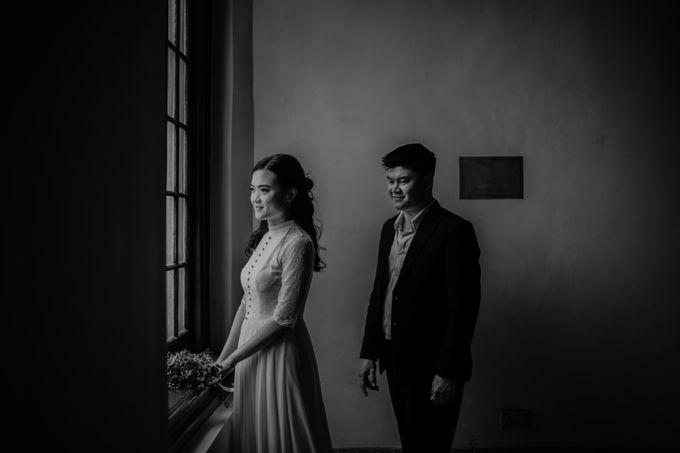 Erika & Steven Prewedding at Gedung Arsip Nasional by AKSA Creative - 022