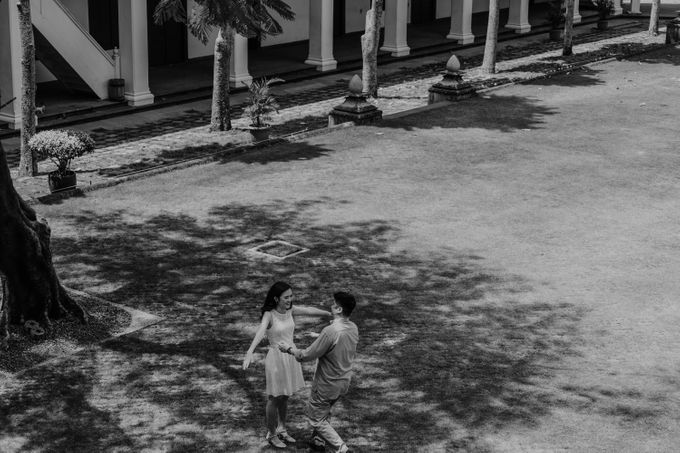Erika & Steven Prewedding at Gedung Arsip Nasional by AKSA Creative - 036