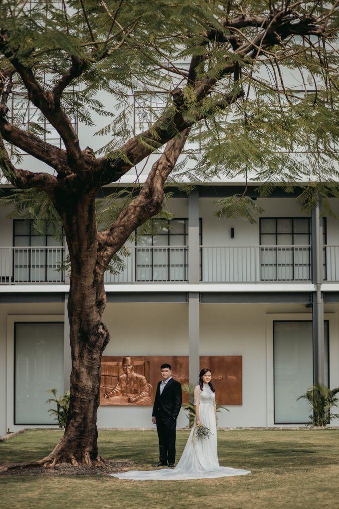 Erika & Steven Prewedding at Gedung Arsip Nasional by AKSA Creative - 001