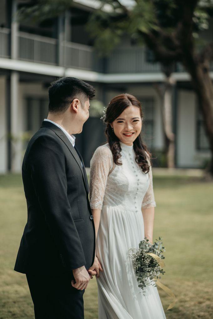 Erika & Steven Prewedding at Gedung Arsip Nasional by AKSA Creative - 004
