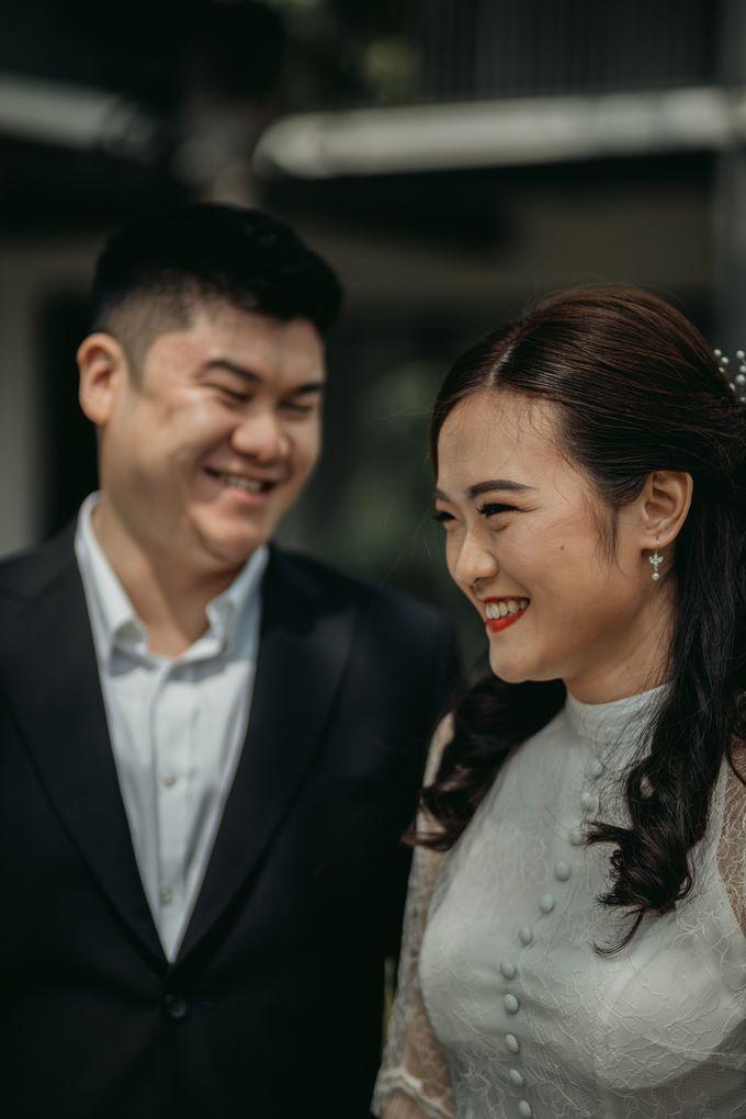Erika & Steven Prewedding at Gedung Arsip Nasional by AKSA Creative - 003