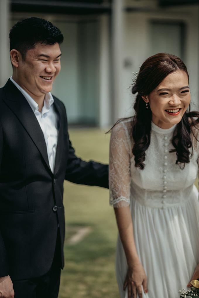 Erika & Steven Prewedding at Gedung Arsip Nasional by AKSA Creative - 005