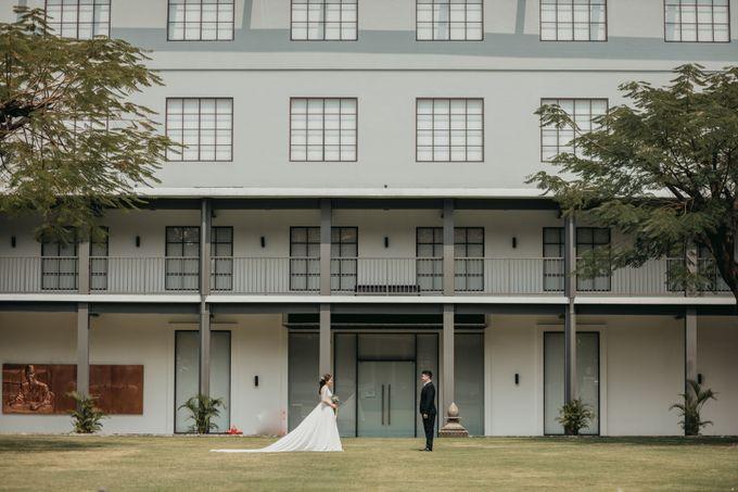 Erika & Steven Prewedding at Gedung Arsip Nasional by AKSA Creative - 046