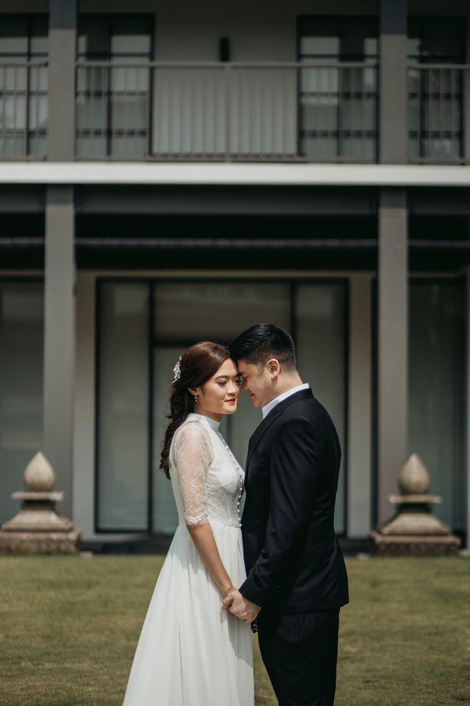 Erika & Steven Prewedding at Gedung Arsip Nasional by AKSA Creative - 007