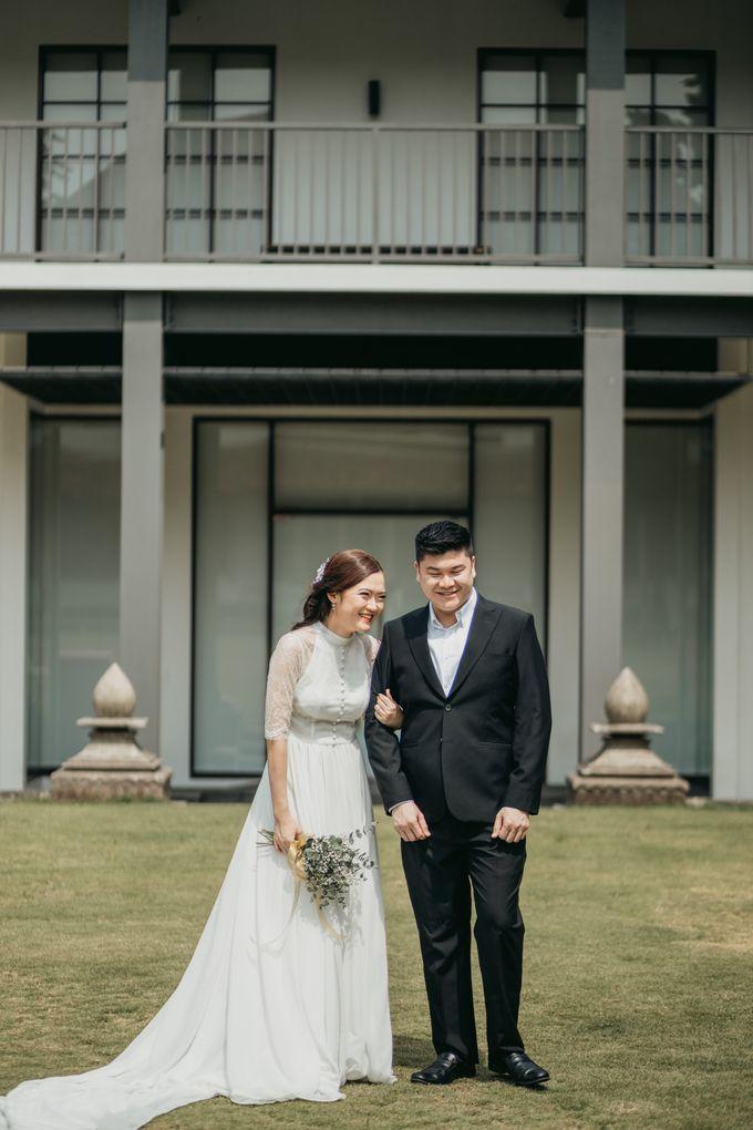 Erika & Steven Prewedding at Gedung Arsip Nasional by AKSA Creative - 006