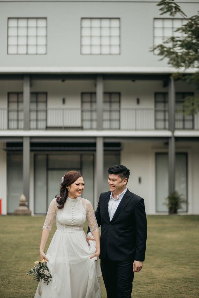 Erika & Steven Prewedding at Gedung Arsip Nasional by AKSA Creative - 008