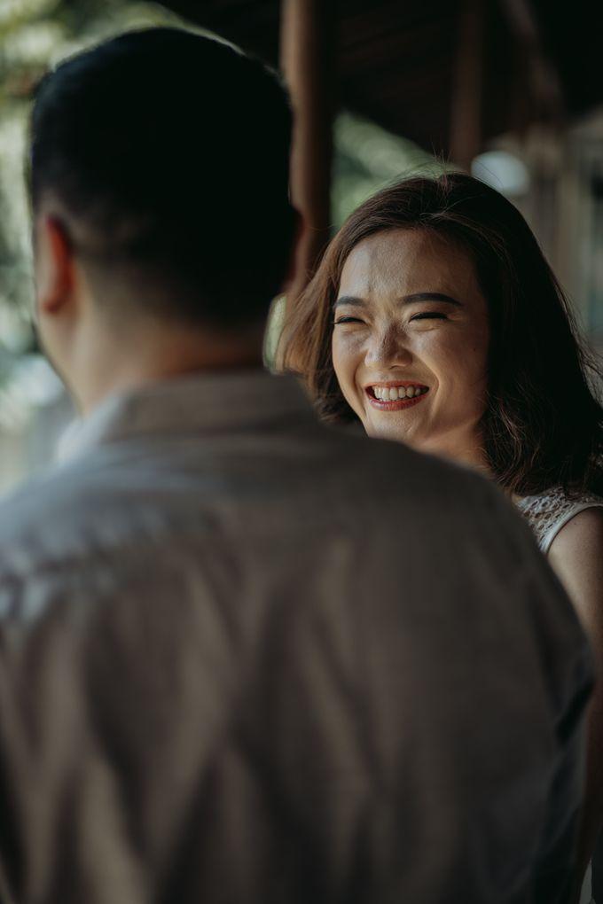 Erika & Steven Prewedding at Gedung Arsip Nasional by AKSA Creative - 021