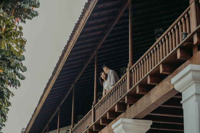 Erika & Steven Prewedding at Gedung Arsip Nasional by AKSA Creative - 023