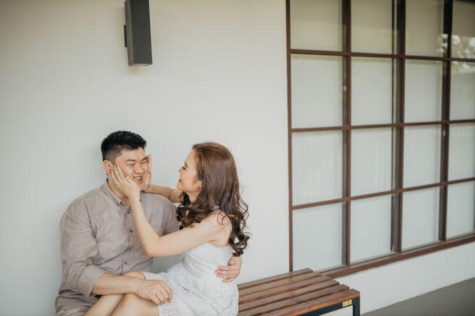 Erika & Steven Prewedding at Gedung Arsip Nasional by AKSA Creative - 028