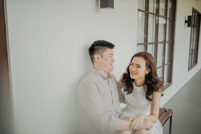 Erika & Steven Prewedding at Gedung Arsip Nasional by AKSA Creative - 031