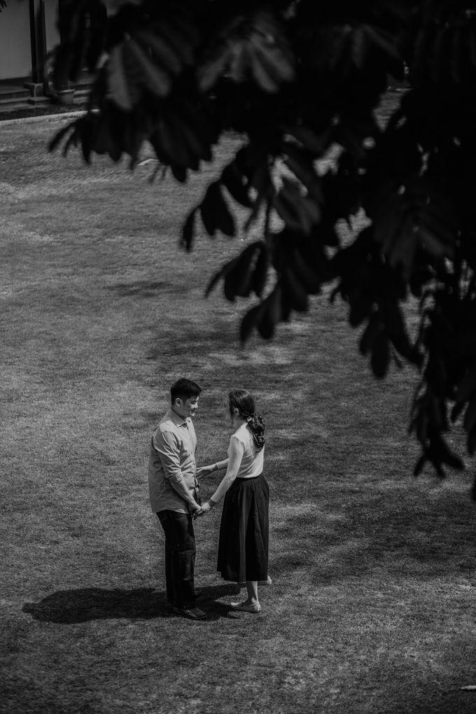 Erika & Steven Prewedding at Gedung Arsip Nasional by AKSA Creative - 040