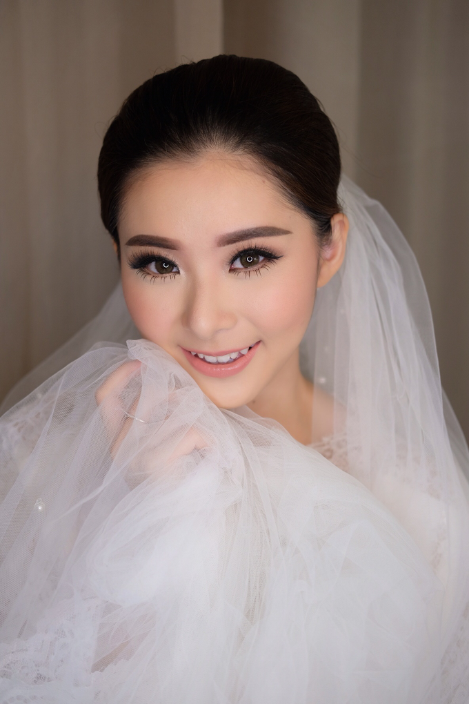 Wedding Makeup Look for Ms Elika by Erliana Lim Makeup Artist - 003
