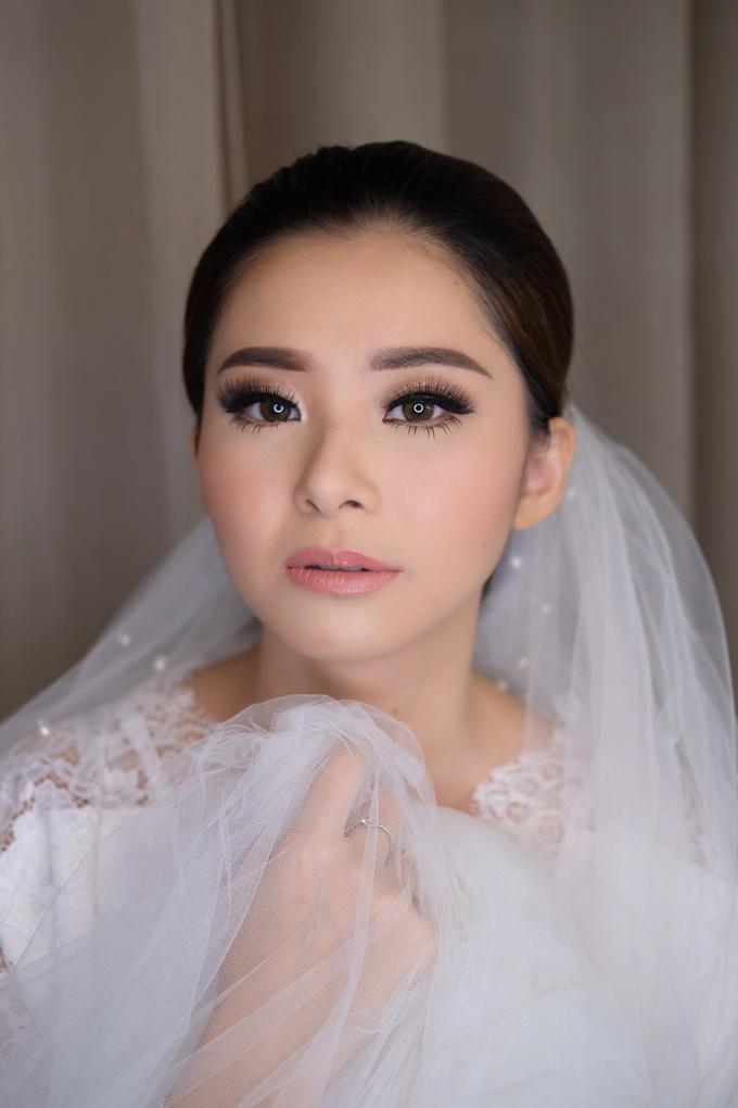 Wedding Makeup Look for Ms Elika by Erliana Lim Makeup Artist - 004