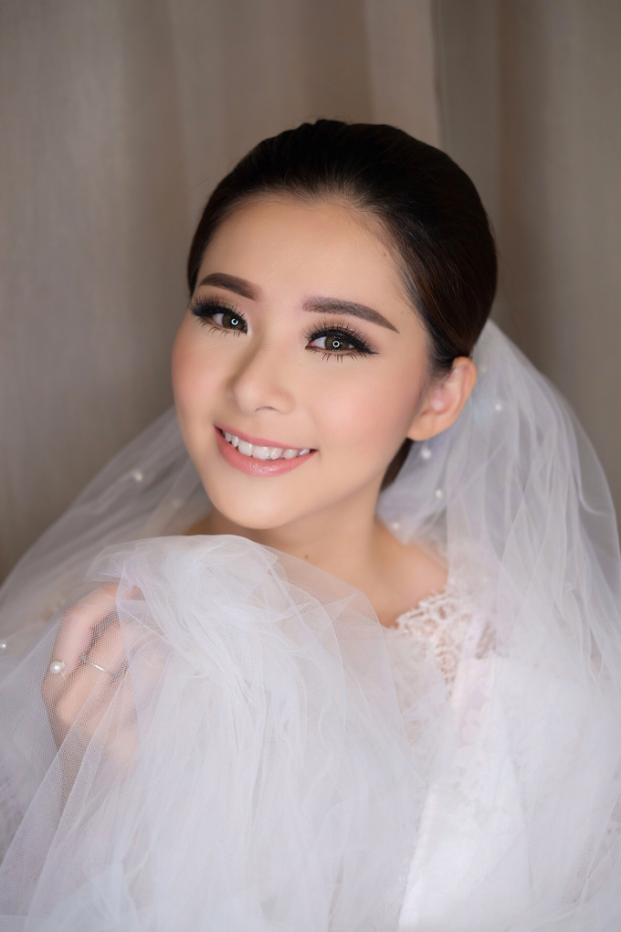 Wedding Makeup Look for Ms Elika by Erliana Lim Makeup Artist - 005
