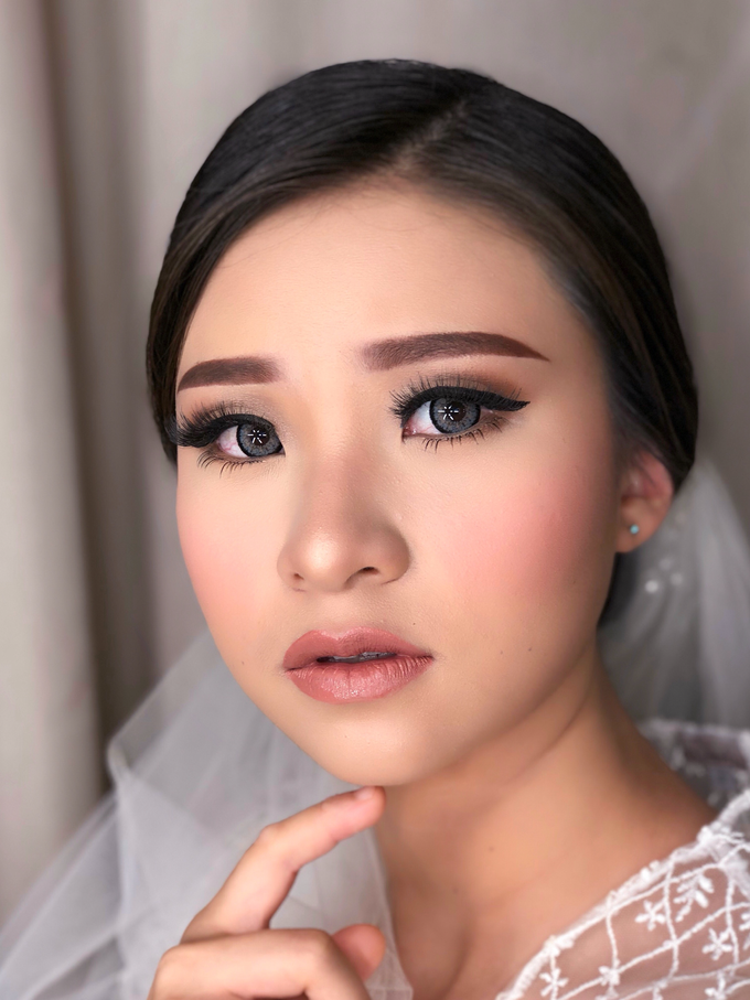 Wedding Look for Ms Meisie by Erliana Lim Makeup Artist - 005