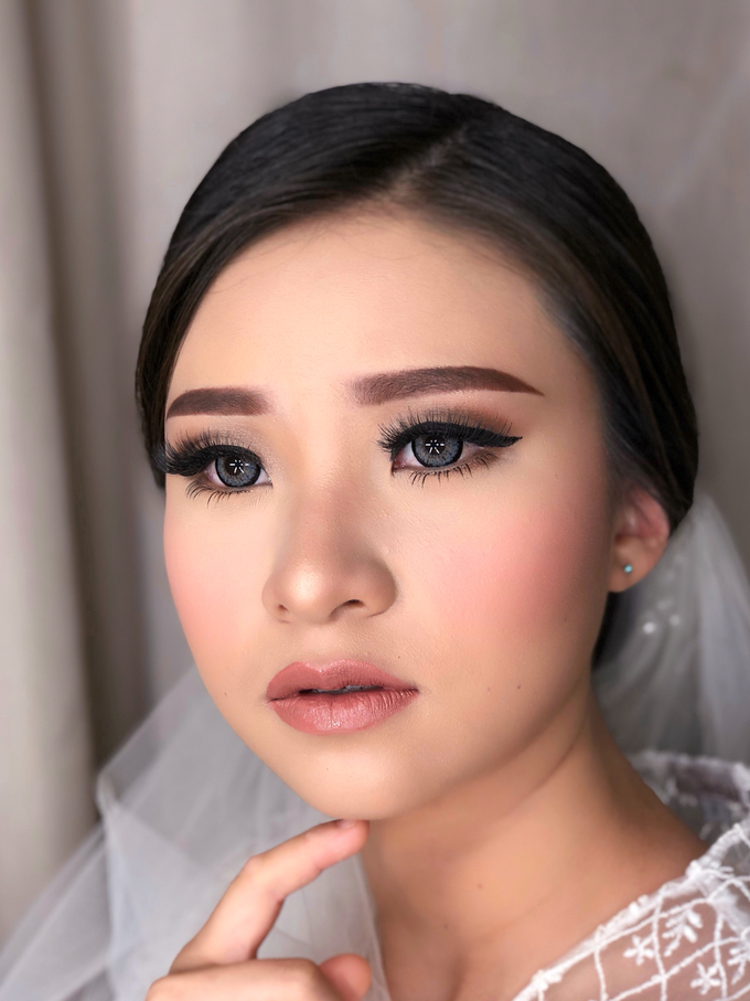 Wedding Look for Ms Meisie by Erliana Lim Makeup Artist - 004